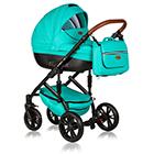 Детская коляска MaEma AZ1 2 в 1 цвет Lagoon