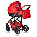 Детская коляска MaEma AZ1 2 в 1 цвет Scarlet