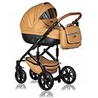 Детская коляска MaEma AZ1 2 в 1 цвет Toffee