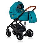 Детская коляска MaEma Jess 2 в 1 цвет Azure Nice F