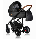 Детская коляска MaEma Jess 2 в 1 цвет Black Kongo