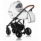 Детская коляска MaEma Jess 2 в 1 цвет White Santorini