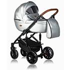 Детская коляска MaEma Jess SE 2 в 1 цвет Silver SE