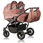 Детская коляска для двойни MaEma Lika Twin 2 в 1 цвет L6