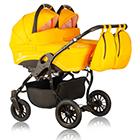 Детская коляска для двойни MaEma Lika Twin 2 в 1 цвет L7