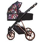 Детская коляска MaEma Eleganza 2 в 1 цвет Dark Rose