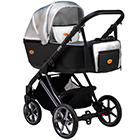 Детская коляска MaEma eVe LE 2 в 1 цвет Silver Black LE