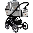 Детская коляска MaEma eVe LE 2 в 1 цвет Silver White LE